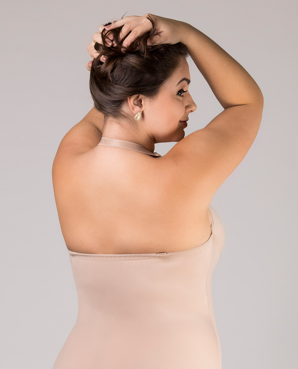 Body Plus Size com Bojo Multiuso